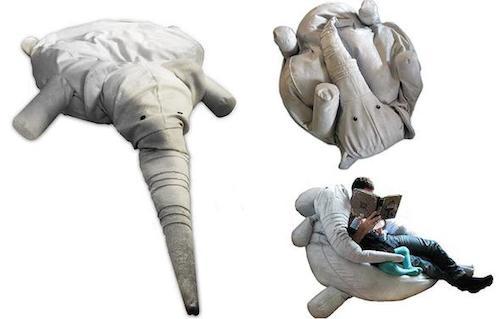кресло мешок слоник фото