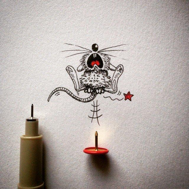 Милые рисунки от apredart