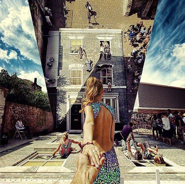 Арт-инсталляция в восточном Лондоне