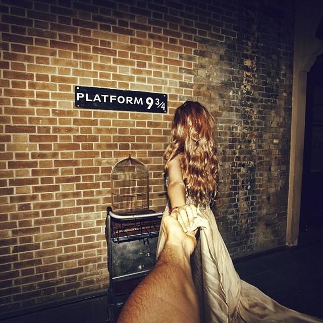 Платформа 9¾ на лондонском вокзале «Кингс Кросс»