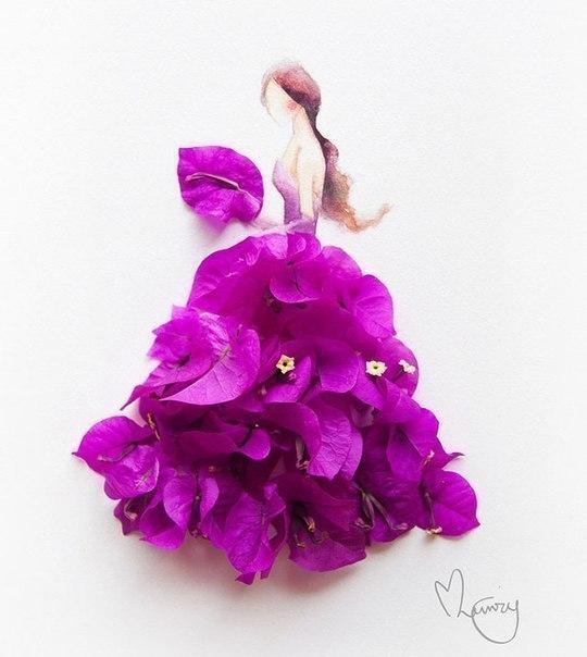 цветы, девушка, Limzy