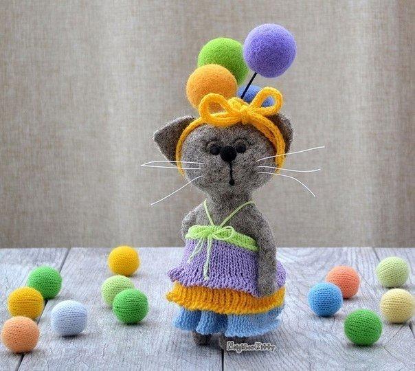 игрушки, валяные игрушки, валяшки, Елена Коверт, Коверт