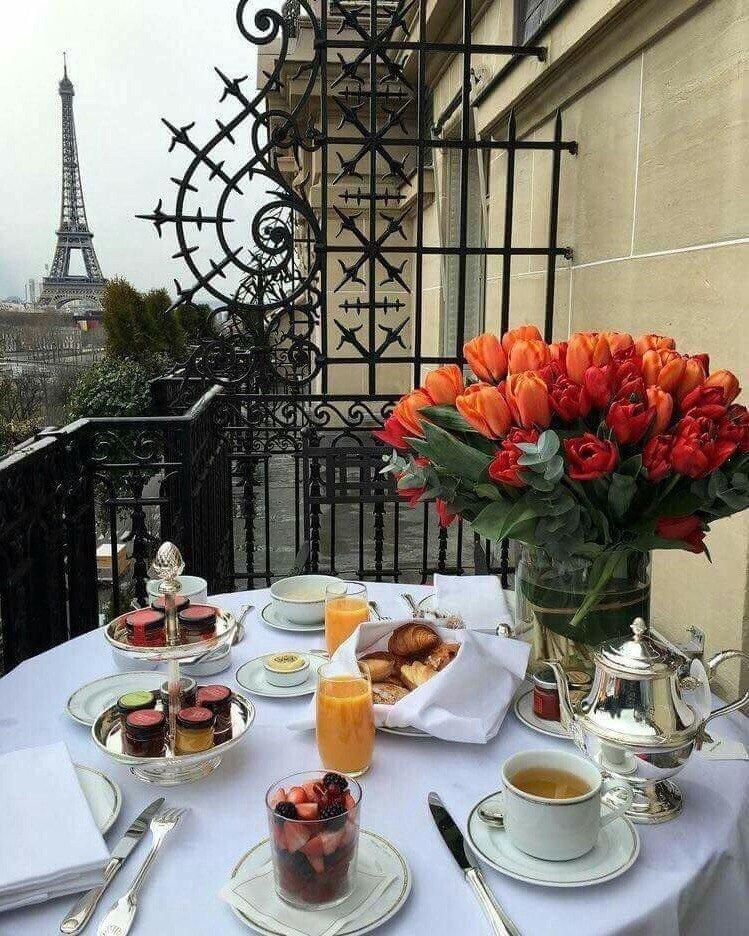 все активно утро в париже фото хотела